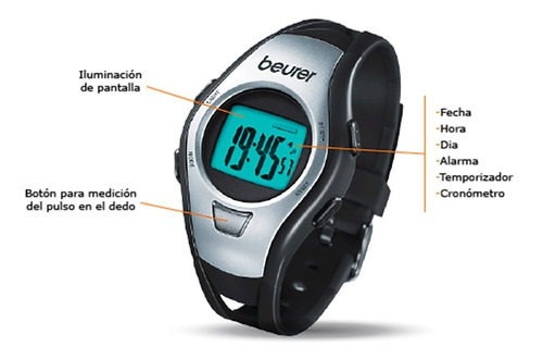 reloj deportivo pulsometro touch basico, pm15 beurer¡¡¡¡