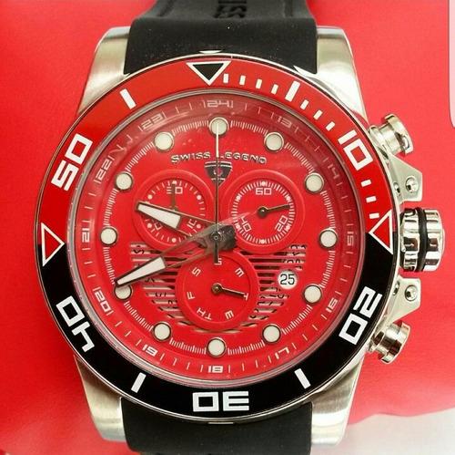 reloj deportivo rojo  mujer hombre unisex correa silicon