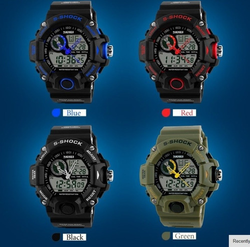 reloj deportivo skmei analogo digital no g shock militar