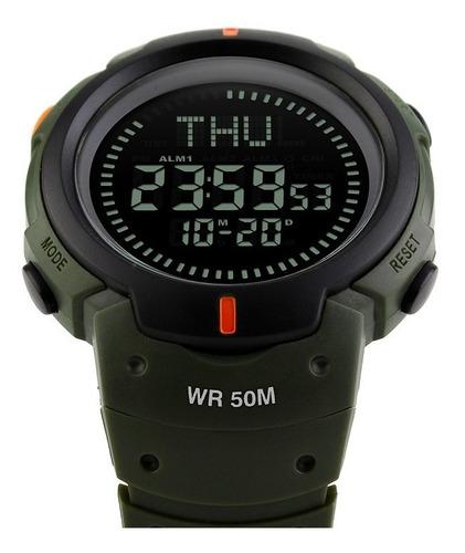 reloj deportivo sumergible luz cronometro skmei 1231