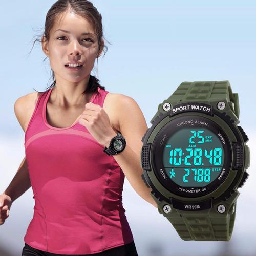 reloj deportivo unisex militar,