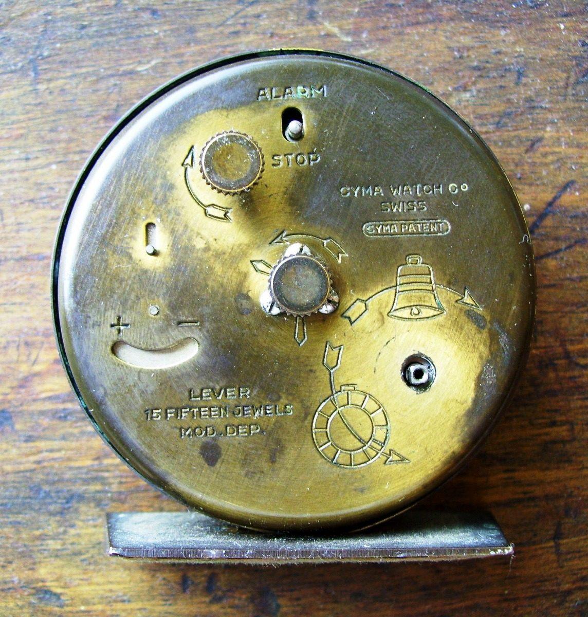 765d039426b0 Reloj-despertador Antiguo (suizo) - Bs. 177.100