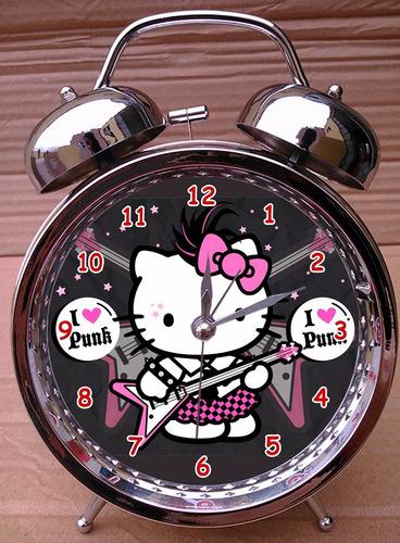 reloj despertador betty boop - hello kitty