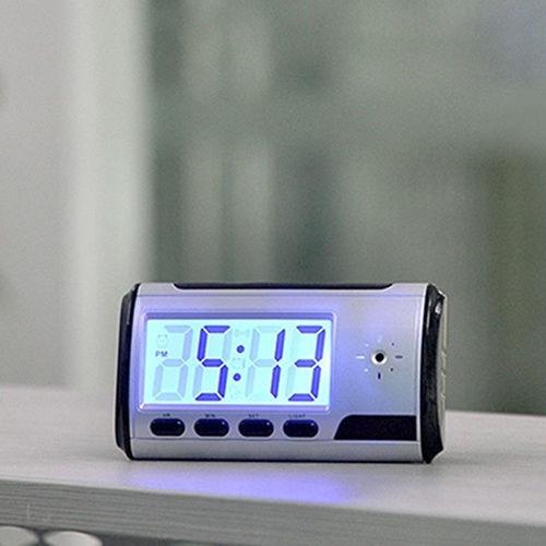 reloj despertador camara espia oculta con sensor de movimien