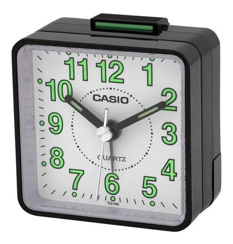reloj despertador casio tq-140-1b joyeria esponda