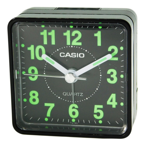 reloj despertador casio tq-140-1d joyeria esponda
