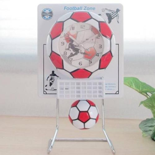 reloj despertador con pendulo, zona futbol y basketball