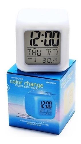 reloj despertador cubo aurora