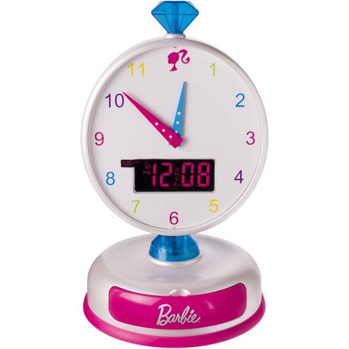 reloj despertador de barbie
