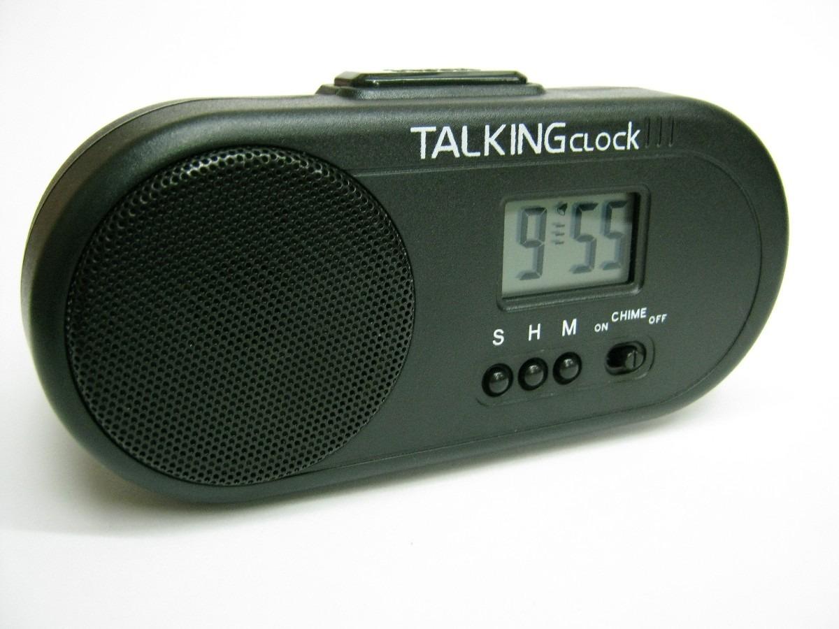 Reloj Gallo DigitalParlante Sonido Despertador Omm CeoxdB