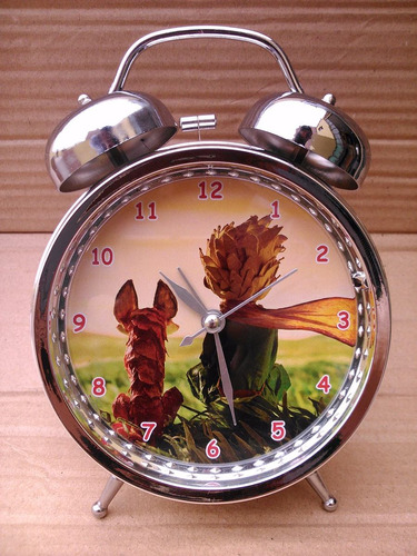 reloj despertador el principito