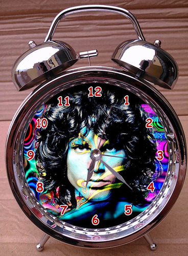 reloj despertador jim morrison the doors