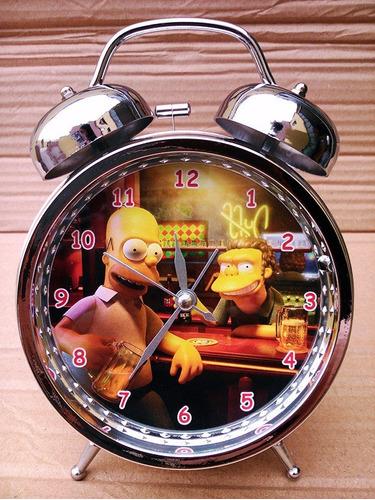 reloj despertador los simpson - mickey - popeye