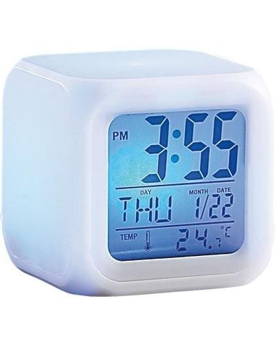 reloj despertador luz colors envio inmediato