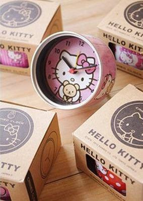 reloj despertador magnetico hello kitty