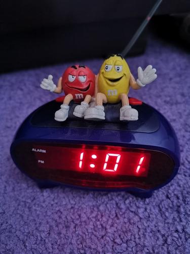 reloj  despertador m&m