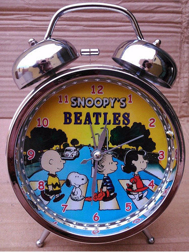 reloj despertador pato lucas - mickey - mafalda - snoopy