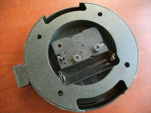 reloj despertador quartz ,modelo ruleman