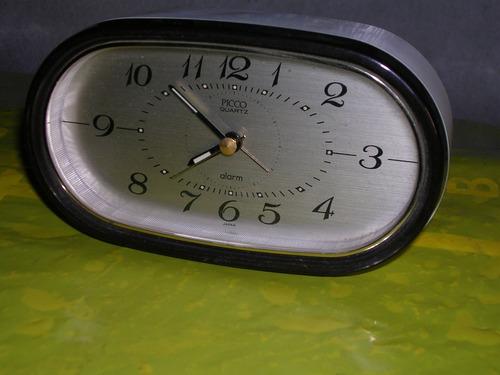 reloj despertador retro ´90 - picco - o r i g e n japon