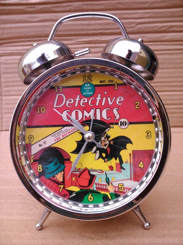 reloj despertador superman