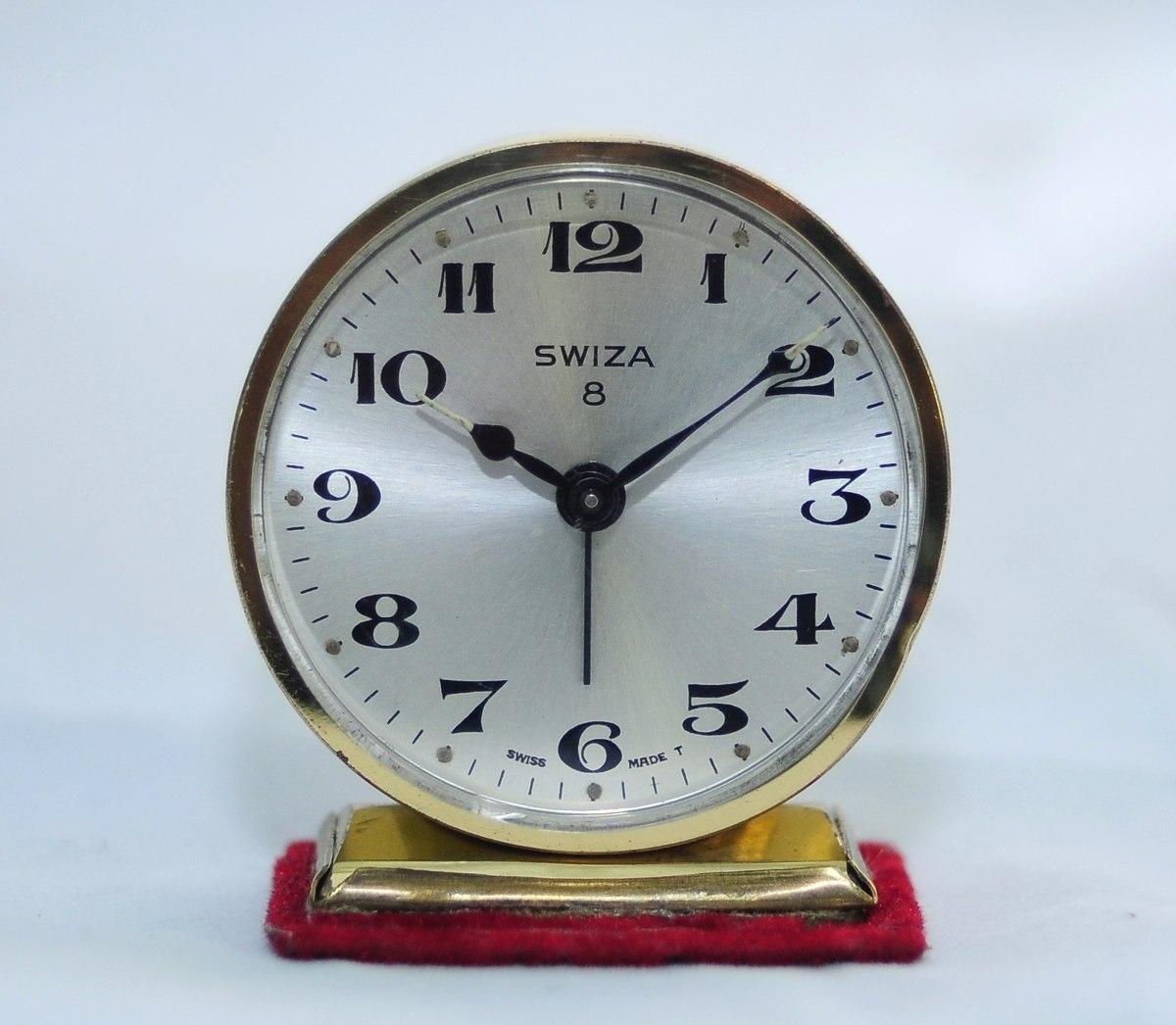 b1a3c28bf00a Reloj Despertador Swiza 8 Días