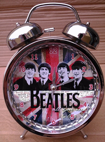 reloj despertador the beatles