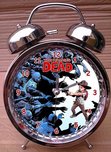 reloj despertador the walking dead