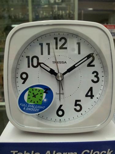 reloj despertador tressa t-dd838