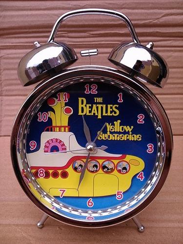 reloj despertador yellow submarine beatles - soda stereo
