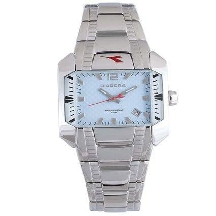 reloj  diadora plateado