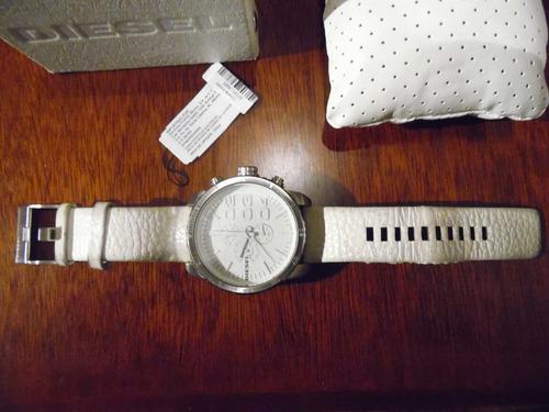 reloj diesel caratula extra grande blanco envio gratis