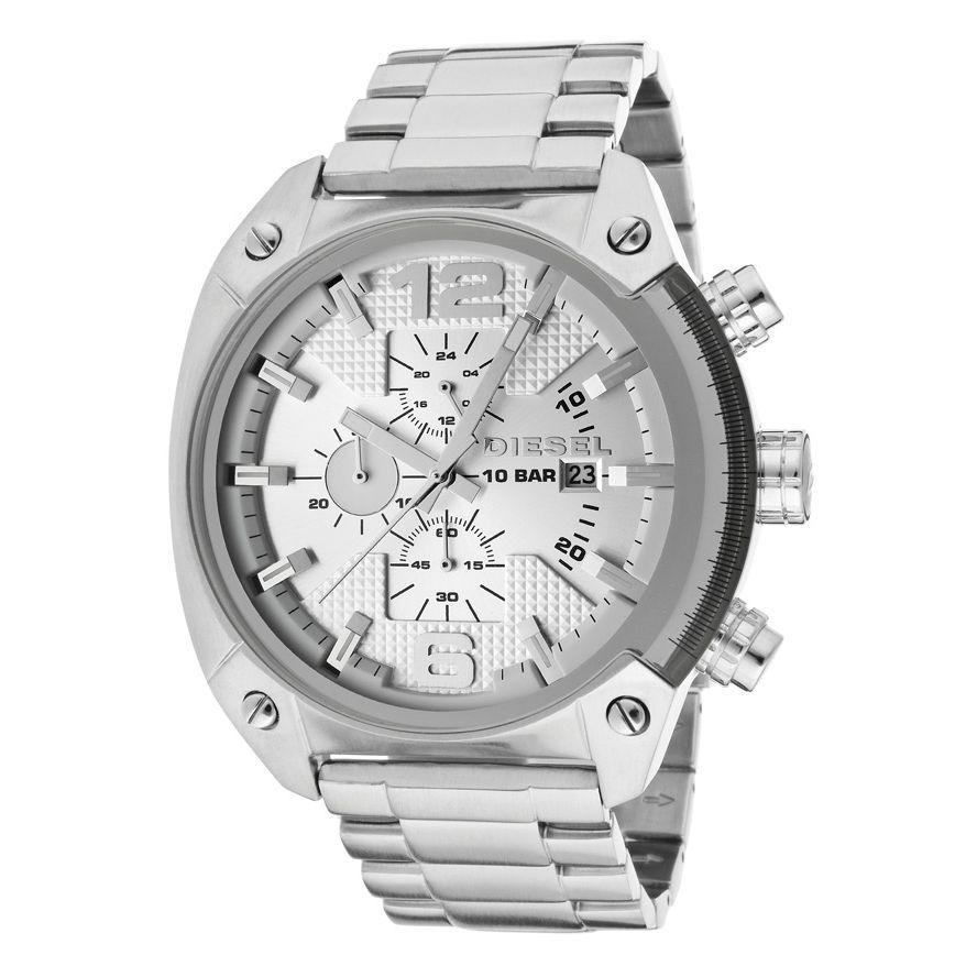 97ceeb937cae reloj diesel de acero inoxidable con cronógrafo para hombre. Cargando zoom.