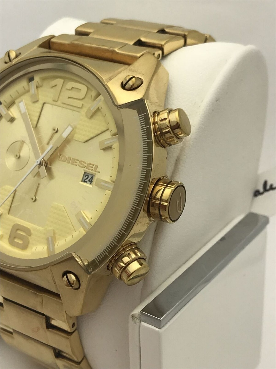 6f945fb0e776 reloj diesel dorado dz4299 disponible. Cargando zoom.