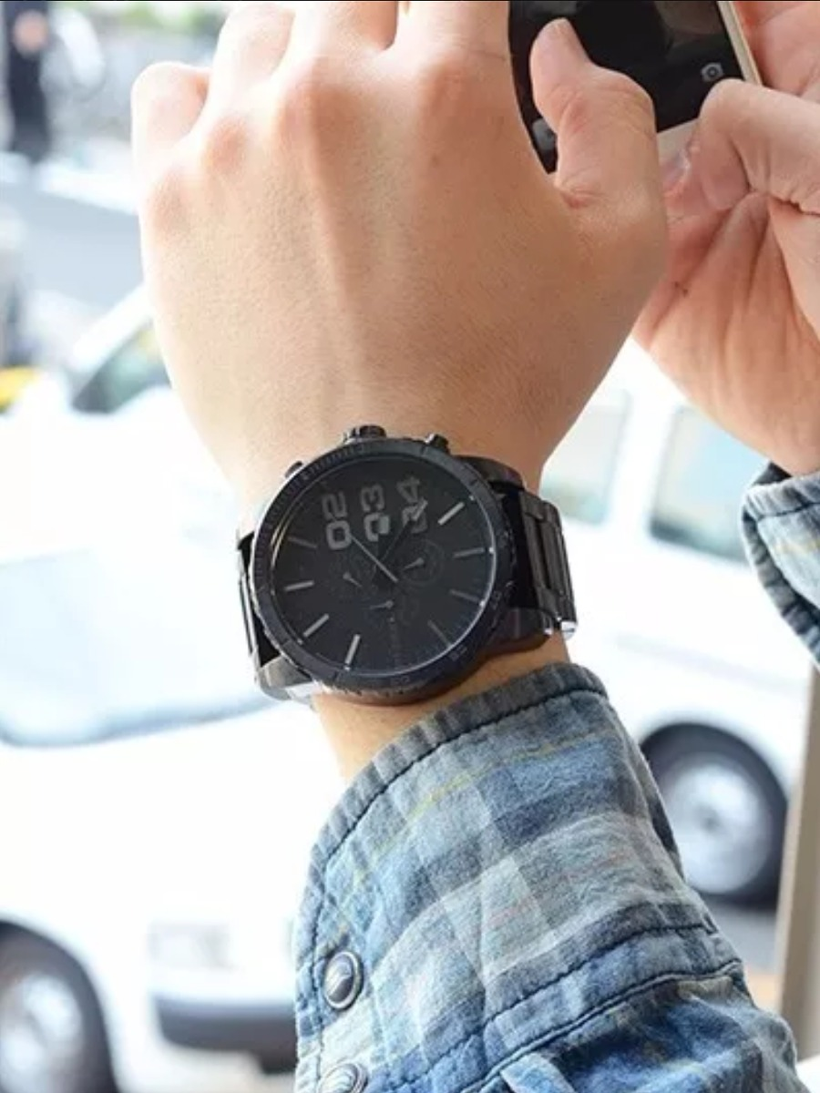 8a7407927785 Reloj Diesel Dz4207 Acero Negro Original Cronografo -   510.000 en ...