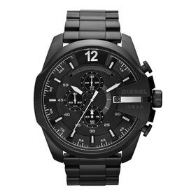 Reloj Diesel Dz4283 Mega Chief Hombre Acero Negro