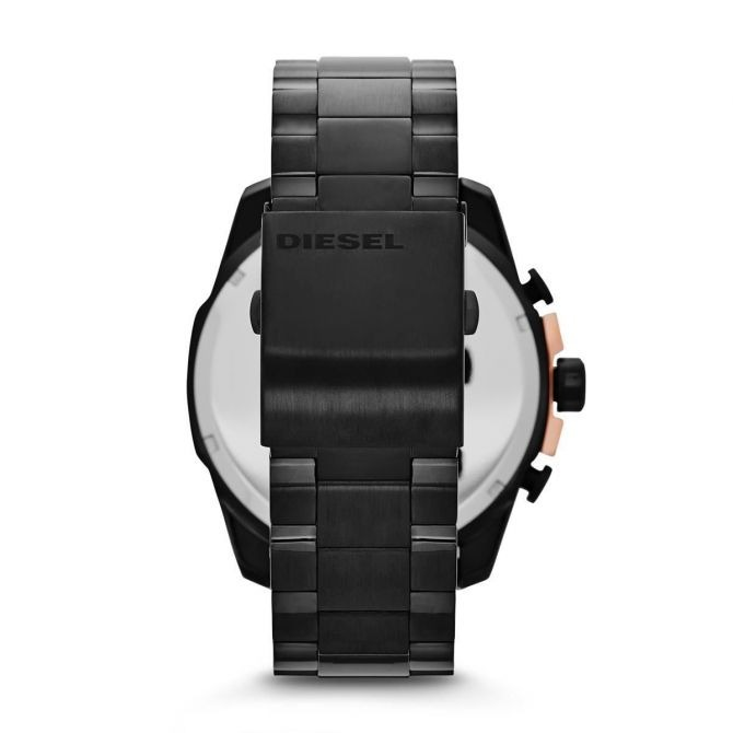 3eb6e1cbbf65 Reloj Diesel Dz4309 Caballero Negro Con Cobre -   6