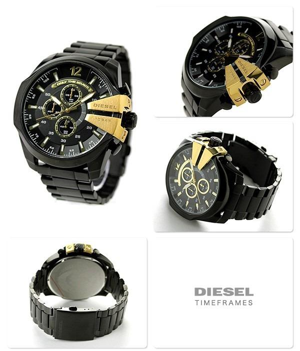 e3cdf56d2a1a Reloj Diesel Dz4338 Mega Chief Para Hombre Nuevo Original - S  599 ...