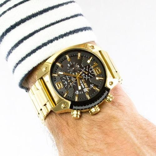 d59682e5c191 Reloj Diesel Dz4342 Dorado Nuevo Oferta Lujo Rolex Oro Nuevo ...