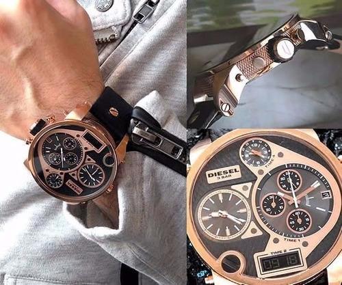 reloj diesel dz7261 mr daddy  para caballero 100% original