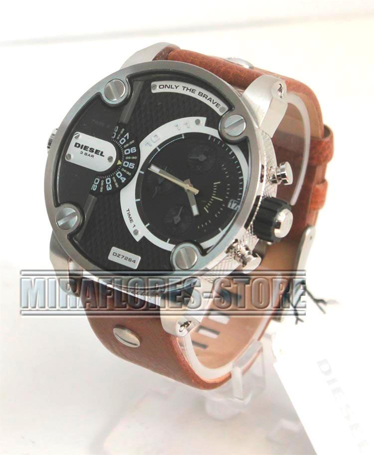 218f88993f38 Reloj Diesel Dz7264 Cronógrafo Correa Marrón Para Caballero - S  599 ...