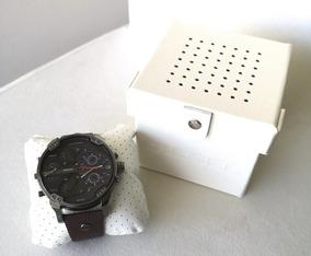 2bb8577fa271 Reloj Diesel Dz1273 Para Hombre Pulso De Cuero Cafe - Relojes y ...