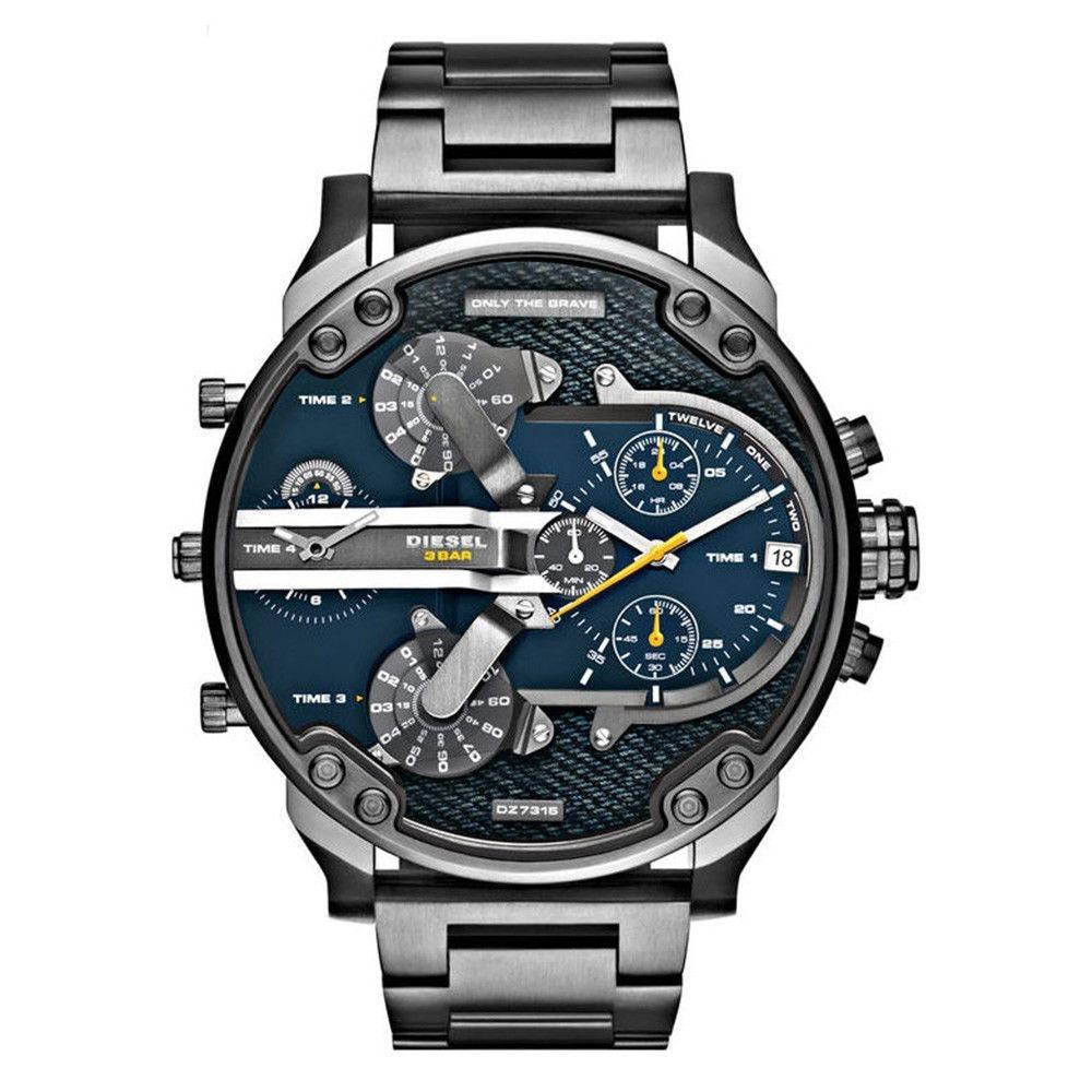 3ea08e5fe66c reloj diesel dz7331 mr daddy gunmetal + envio gratis. Cargando zoom.