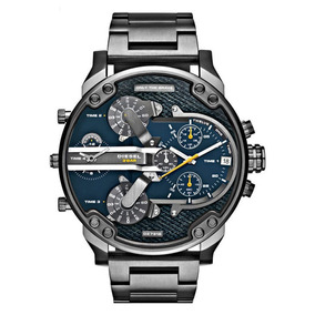 6d3c8b2f5f13 Reloj Diesel Dz7331 Mr Daddy Gunmetal + Envio Gratis