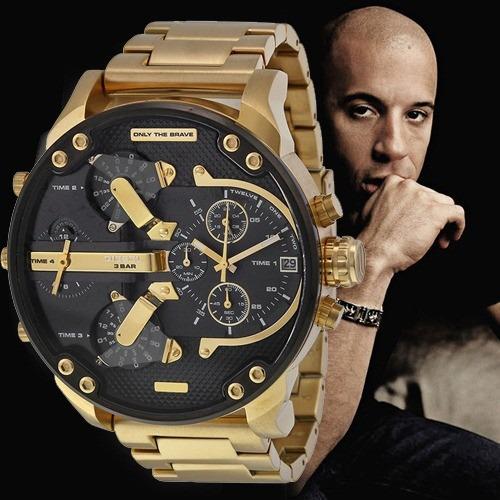9a1adbbab0ba Reloj Diesel Dz7333 Mr. Daddy 2.0 - 100% Nuevo Y Original - S  999 ...