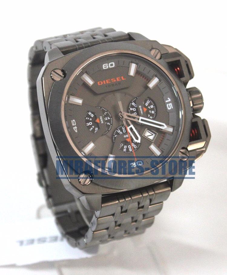 3bfef6dd4c9d Reloj Diesel Dz7344 Bamf Análogo Acero Para Caballero - S  849