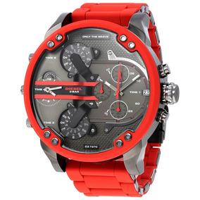 22a5a0715e97 Reloj Diesel Dz7370 Mr Daddy Gunmetal + Envio Gratis Nuevo