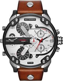 534cb285f057 Pulseras De Cuero Con Plata 950 Para Hombre - Relojes Pulsera ...