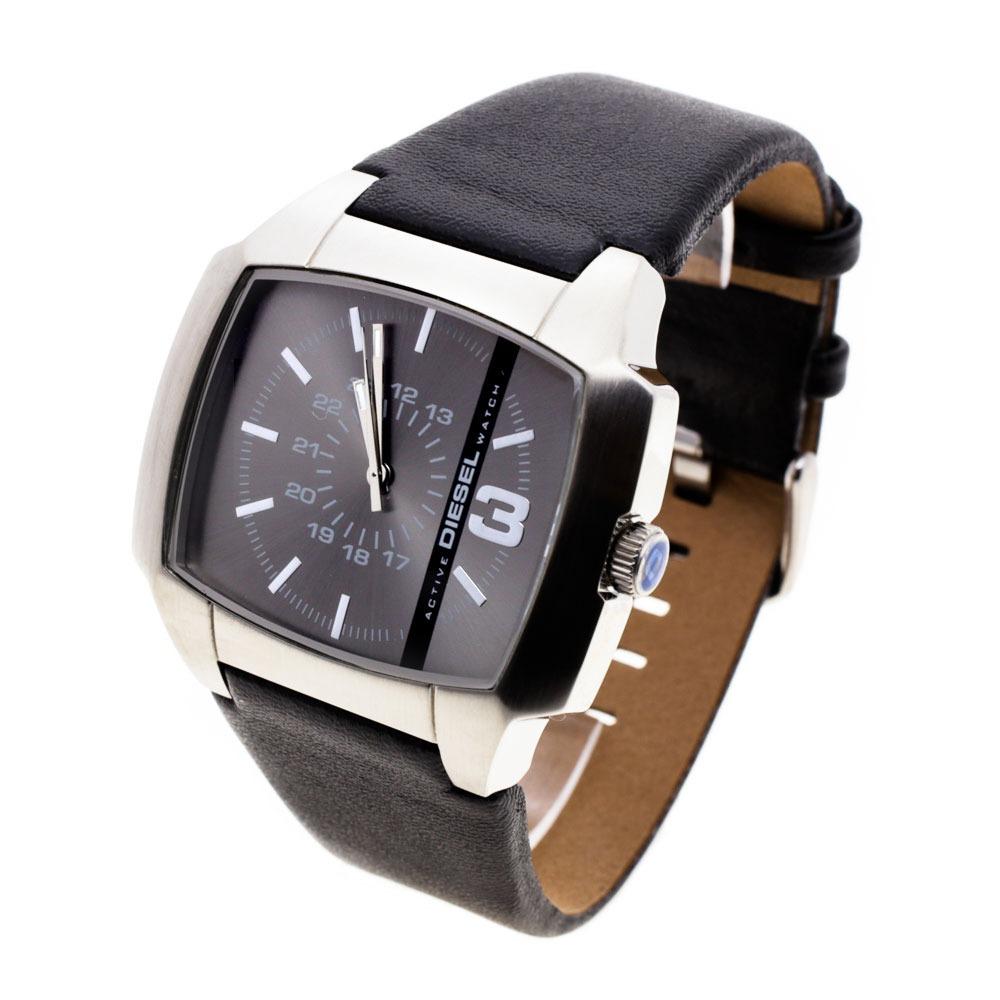 f6cb02bcd039 reloj diesel hombre 6628 063 acero cuero sumergible. Cargando zoom.