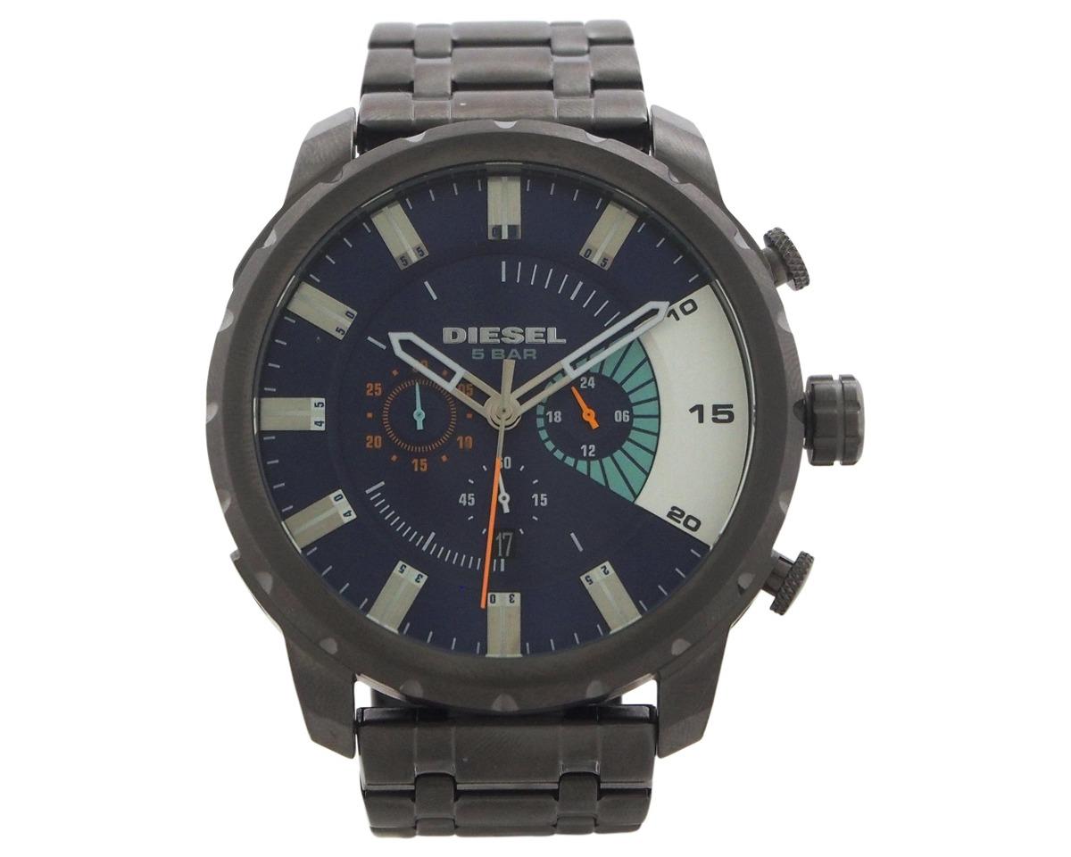 b98beb1eb1a5 Reloj Diesel Para Hombre Dz435 Azul Enchapado En Ion Con -   19.158 ...