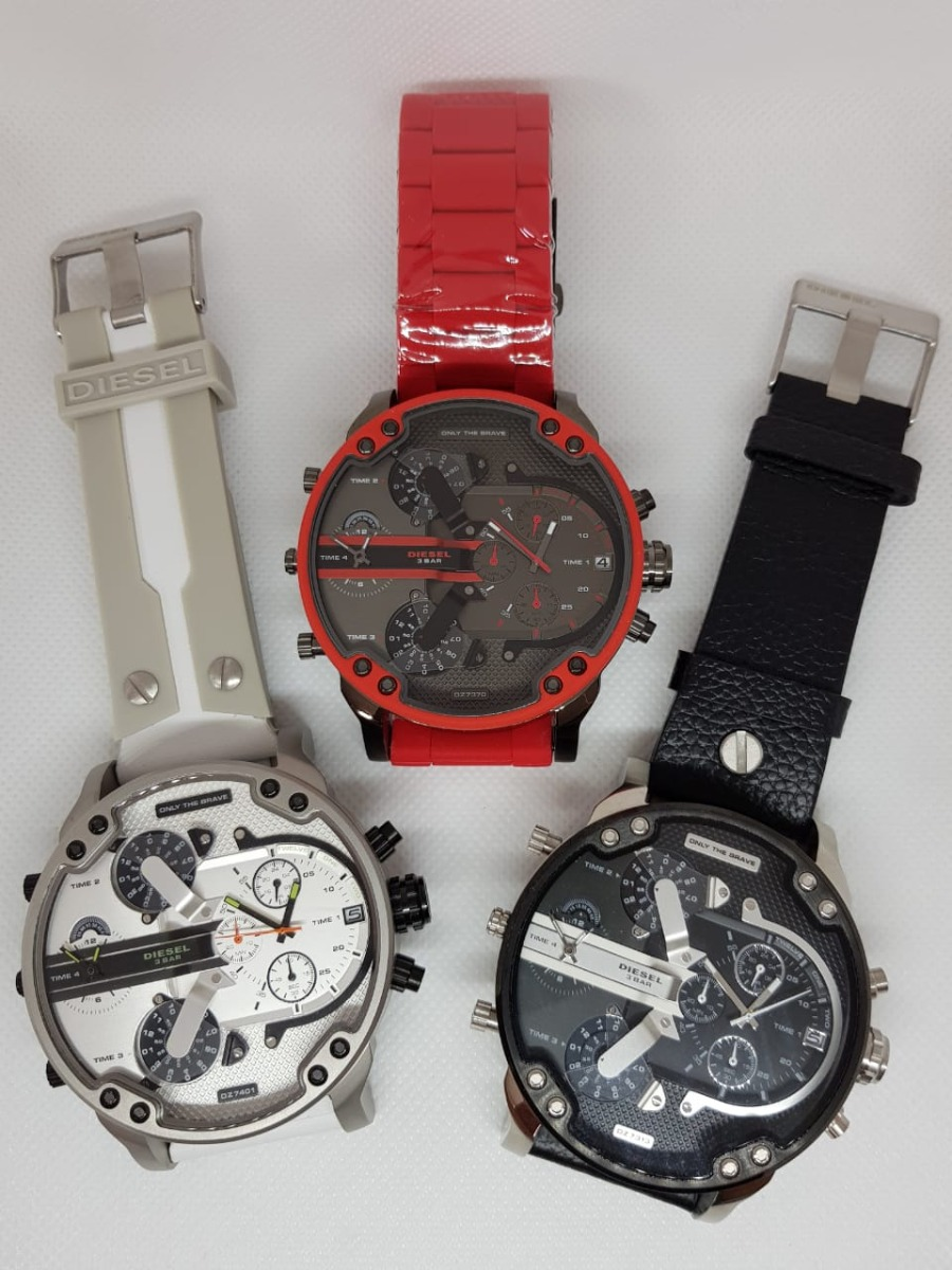 40a1f7aa7201 Reloj Diesel Hombre Dz7395 Nuevo Orig Mr Daddy 2.0 Iridiscen ...